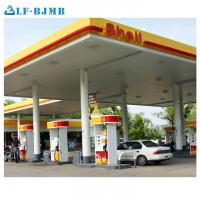 Best Prefab Fast Installation Cost of Gas Petrol Station Canopy Steel Structure Roof wholesale