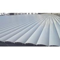 China Exterior Ceiling Louvre Sun Shade Systems 1000 - 6000mm Blades Span Motorized Control on sale