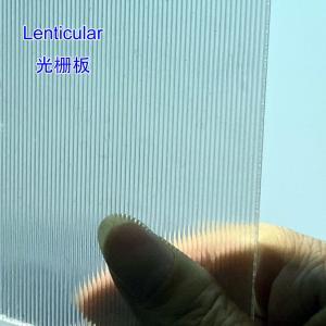 Best 3D Lenticular Sheet for 3D advertising photo 18LPI lenticular for Injekt printing LENTICULAR 3D POSTER by injekt printer wholesale