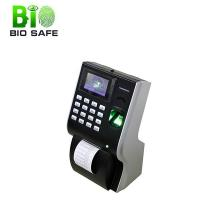 """Bio-P10 3"""" TFT Color Screen Fingerprint Time and Attendance Terminal with Thermal Printer"""