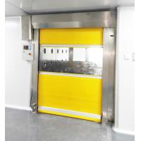 Best Fast Speed Scrolled Doors Air Shower Tunnel For  Material  ,  Air Blow Passage wholesale