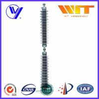 China Line Type Transformer Surge Arreste For Power Transmission , Grey Silicone Housing on sale