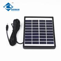 China 9V 1.5W mini foldable solar panel for emergency lighting ZW-1.5W solar panel photovoltaic for solar panel charger on sale