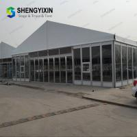 China Wedding Tent Party Tent Manufacture China - 25x50m Large Event Tents with Flooring / Wind Resistant on sale