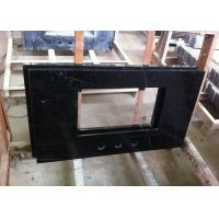 China Nero Marquina Marble Bathroom Sink Countertop 25 / 37 / 41 High Density 2.75 G / Cm3 on sale