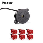 Best 12V Front And Back Car Sensors Automotive Proximity Sensor With Buzzer wholesale