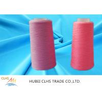 Best High Strength Ring Twist Dyed Polyester Yarn Smooth Surface Well Sewing Performance wholesale