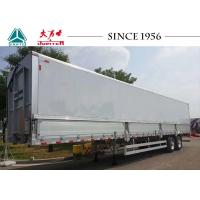 Best 12 Meter 30 Tons Aluminum Alloy Skeletal Container Trailer 2 Axle With Light Weight wholesale