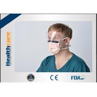 Best 2020 China New pneumonia Disposable Surgical Mask With Tie and Anti Fog Visor Grand A Carbon Strip wholesale
