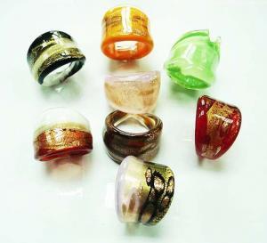 Best Handmade Glass Engagement Rings wholesale