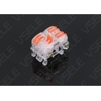 China Screwless Electrical Connection 32A 400V Din Terminal Block on sale