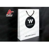 China Environmental Custom Printed Paper Bags Paper Sacks With Handles on sale