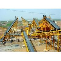 Best Automatic Ship Discharging Moving Belt Conveyor Industrial Mining Equipment 1600mm Guard Side Height wholesale