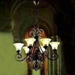 Best Crystal Lighting Chandelier, Measures 780 x 860mm, Made of Steel Structure wholesale