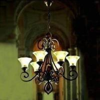 Best Crystal Lighting Chandelier, Measures 780 x 860mm, Made of Steel Structure wholesale