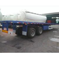 China 40 feet container flatbed trailer 40ton container chassis on sale on sale