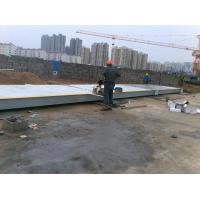 China hot sell 3x9m 2 sections 6 load cells weighing scale 50ton truck scale platform weight 4.3ton 3x9m 50ton truck scale on sale