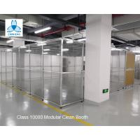 Best Class 10000  Pharmaceutical  Clean Booth, FFU clean room, Aluminum structure, with Sliding Doors wholesale