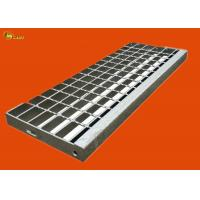 China Steel Drain Trench Gratings Grid Plates Serrated Metal Stair Treads Cover on sale