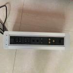 Best Desktop Socket Flip Up Power Outlet / Electrical Plug Socket For Conference Room wholesale