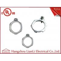 China Steel Conduit Locknut EMT Conduit Fittings With Terminal Electro Glanvized 1/2 to 4 on sale