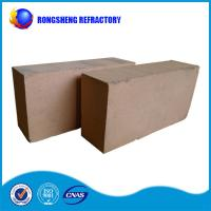 China Bauxite Faint Yellow insulating refractory brick , Iso high alumina brick on sale