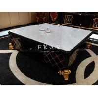 China Slate Coffee Table Marble Chess Table Modern Glossy Furniture Table Stone Coffee Table TT- on sale