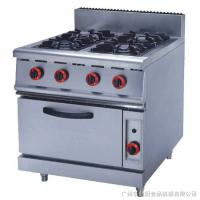 Best JUSTA ZH-RQ-4 Stainless Steel Kitchen Equipments 4.8KW PNG Gas Burner With Oven wholesale