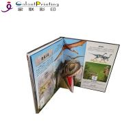 Best Dinosaurs Children'S Pop Up Story Books  Educational Lift The Flap Books For Toddlers wholesale