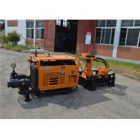 Horizontal Directional Trenchless Drilling Rig Machine With Mud Pump