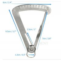 Laboratory Measure Calipers Dental Lab Dentist Measurement Scale Ruler