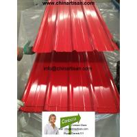 China 0.30mmThickness *840mm Width PRE PAINTED CORRUGATED ROOFING SHEET on sale