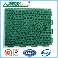 Floated Waterproof Badminton Interlocking Rubber Flooring For Tennis Court