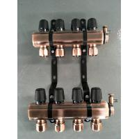 China Forged House Water Manifold , B8 Mould Cooling Brass Water Manifold Fine Polished on sale