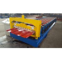 Best High Capacity 20 M / Min Corrugated Roof Sheet Roll Forming Machine 45# Steel Rollers wholesale