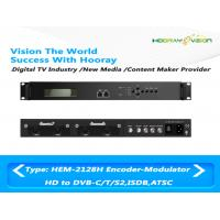 Buy cheap Support 4 CAS Digital TV Modulator All-In-One With Encoding Multiplexing Modulator product