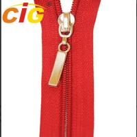 Best Customized Open End / Close End Metal Zippers For Garments Eco Friendly wholesale