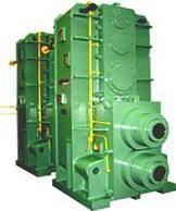 China The industrial large gear units (gearbox)  gear box speed reducer gear reduction units for rolling m on sale