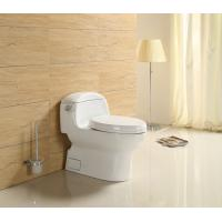 China ​ Factory China Wc Sanitary Ware Ceramic s trap Bathroom TOTO One Piece Toilet bowl with slow down seat cover on sale