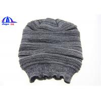 Best 100% Acrylic Fashion Women Winter Knitted Beanie Hats With Jacquard Pattern wholesale