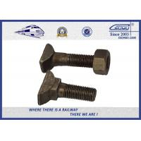 China HS26 & HS32 T Style Railway Bolt Clamp Plain Oiled & Zinc Plated ,  Clip Bolt on sale