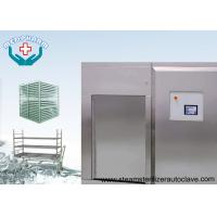 Best Biosafety Pharmaceutical Autoclave With Secondary Temperature Sensor In Chamber Drain wholesale