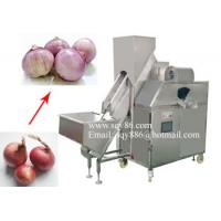 Best 500-700KG/H Automatic Onion Skin Peeling Machine by Compressed Air wholesale