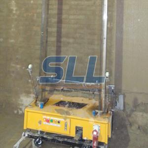 Best Higher Accuracy Building Plaster Machine , Mortar Plastering Machine Avoid Shaking Loose wholesale