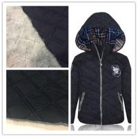 China 300T Wind Proof Cotton Nylon Fabric Smooth Surface For Cotton - Padded Jacket on sale