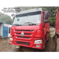 Best HOWO 375 Euro 3 Used Dump Trucks 9000 * 2500 * 3500 Mm Easy Operation wholesale