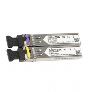 China FTTH 1.25G 80km Gigabit SFP Module MikroTik S-4554LC80D on sale
