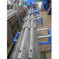 Best Crash Barrier Roll Forming Machine with Hydraulic Decoiler, Customized Sizes are Accepted wholesale