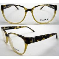 Best Yellow Black Square Acetate Stylish Womens Eyeglass Frames 53-16-136mm wholesale
