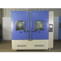 China Automatic Water Spray Test Chamber Rain Test Chamber 14L - 16L/Min Water Flow Rate on sale